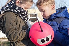 Sun eating robot teaches children about sustainability
