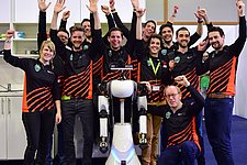 Service robot TU/e is runner-up at the RoboCup German Open