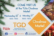 TGD at the TUe Christmas market