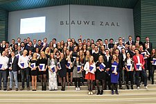 75 BME and MST students received their Bachelor's degree