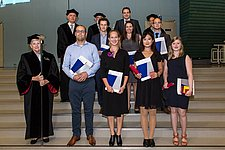 Master's graduation ceremony of October