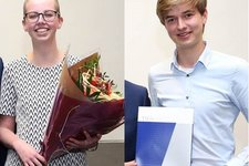 Holland Society Incentive Awards for Stacey Fun and Jan van Rooijen