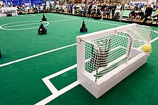 Soccer robots going for tenth World Cup final in a row