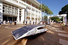 Solar Team Eindhoven takes lead on first day of World Solar Challenge