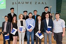 7 BME and ME students received their Master's degree