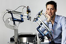 Fast high precision eye-surgery robot helps ophthalmologists