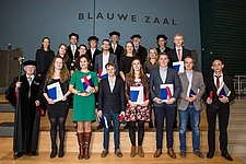 25 BME and ME students received their Master's degree