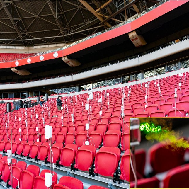 Introducing the aerosol research in the Johan Cruijff ArenA (YouTube)