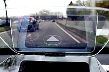 Augmented reality lets cars communicate to reduce road rage