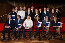 13 BME and ME students received their Master's degree