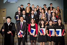 20 students received their Master's degree