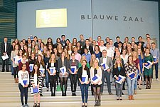 Last monday, 77 students received their 'Propedeuse', congratulations!