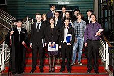 7 BME-students receive their Master's degree