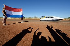 Eindhoven out in front in World Championship for solar-powered family cars