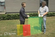 Michael Debije hits the news with Luminescent Solar Concentrators (LSCs)