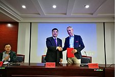 Bart van Esch appointed part-time professor in China