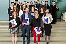 14 Students received their Master's degree