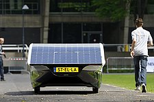 Solar-powered car from TU/e officially allowed on public roads