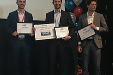 OML-graduate André Snoeck receives the Netherlands Logistics Master's Thesis Award