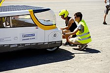 Solar Team Eindhoven has a setback in the next-to-last stage