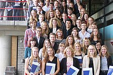Record number of 78 students received Propedeuse, congratulations!