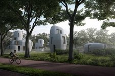 Eindhoven gets five 3D-concrete printed houses