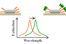 Tip-Specific Functionalization of Gold Nanorods for Plasmonic Biosensing: Effect of Linker Chain Length