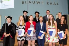 5 BME and ME students received their Master's degree