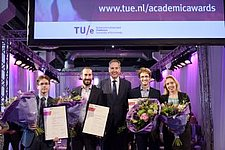 TU/e Academic Awards for best theses and end projects of 2016 and presentation of Marina van Damme grant