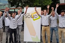 Students from Team Solid win award of 50.000 euro