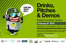 Drinks, Pitches & Demos @ BIC