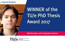 Jaron Sanders and Evangelos Stamaropoulos winners at TU/e Academic Awards