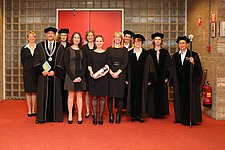 Marikska Stokkermans' all female graduation