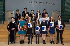 20 BME and ME students received their Master's degree