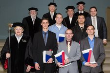 5 BME-students received their Master's degree