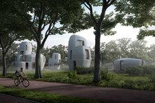Eindhoven gets the first 3D-concrete printing housing project
