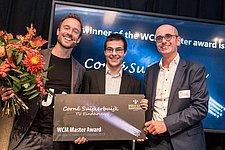Two TU/e students won best thesis award at the World Class Maintenance (WCM) competition 2017