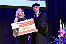 Professor Yvonne de Kort Lecturer of the year