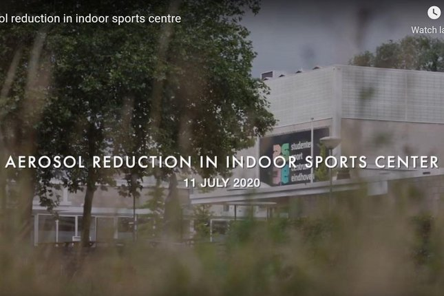 In this YouTube clip the researchers explain the experiment in the Student Sports Center