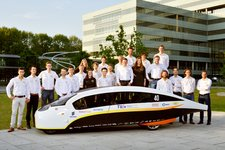 The sun as fuel? Students present solar car for 5 occupants