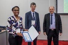 Marie Mbeutcha receives ITN CELTA project award for her paper during MIKON 2018