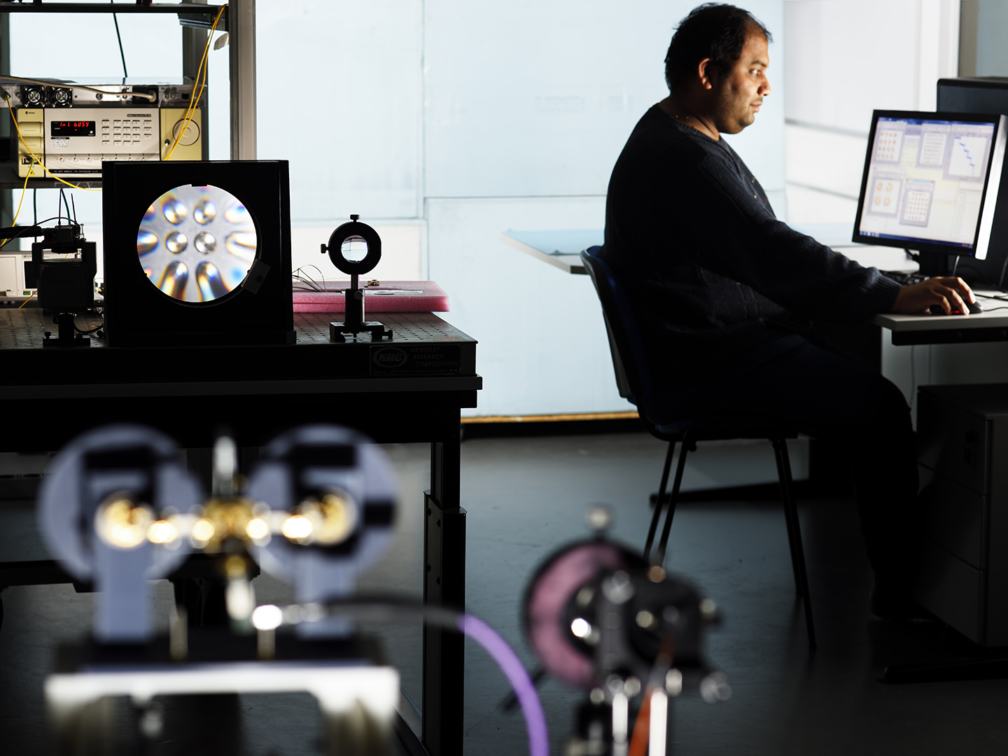 """Center for Wireless Technology Eindhoven: BROWSE project - """"Beam-steered Reconfigurable Optical-wireless System"""" with PhD Amir Khalid, Electrical Engineering, Eindhoven University of Technology"""